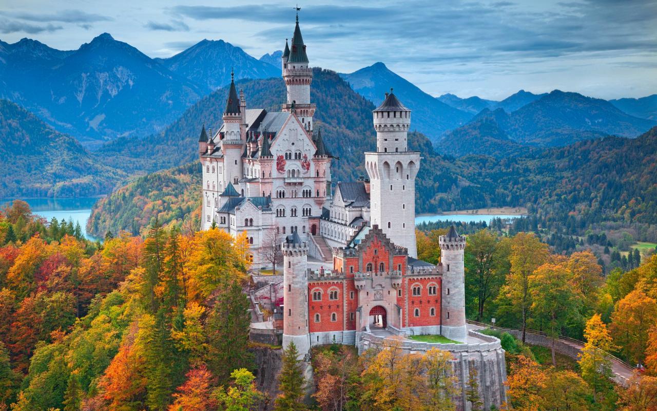 A világhírű tündérmesék palotája és Salzburg