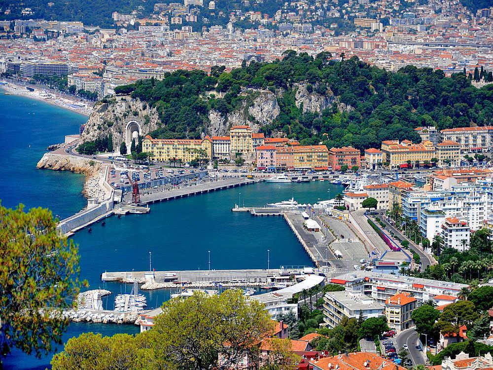 Nizza városlátogatás