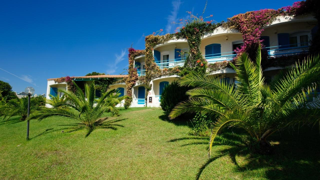 PARK HOTEL RESORT-Baia Sardinia SZARDÍNIA