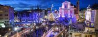 Betlehemi játék a cseppkövek birodalmában - Ljubljana és Postojna
