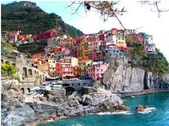 Toszkána és az öt föld mesés tája Cinque Terre