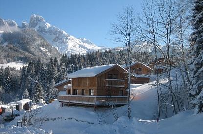Alpendorf üdülőfalu