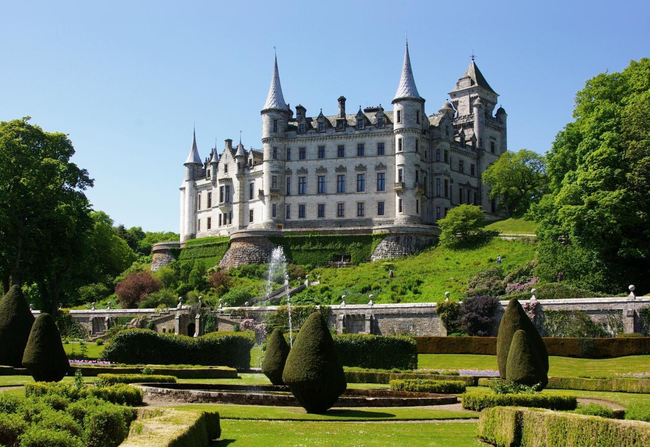 A kastélyok és legendák földje: Skócia