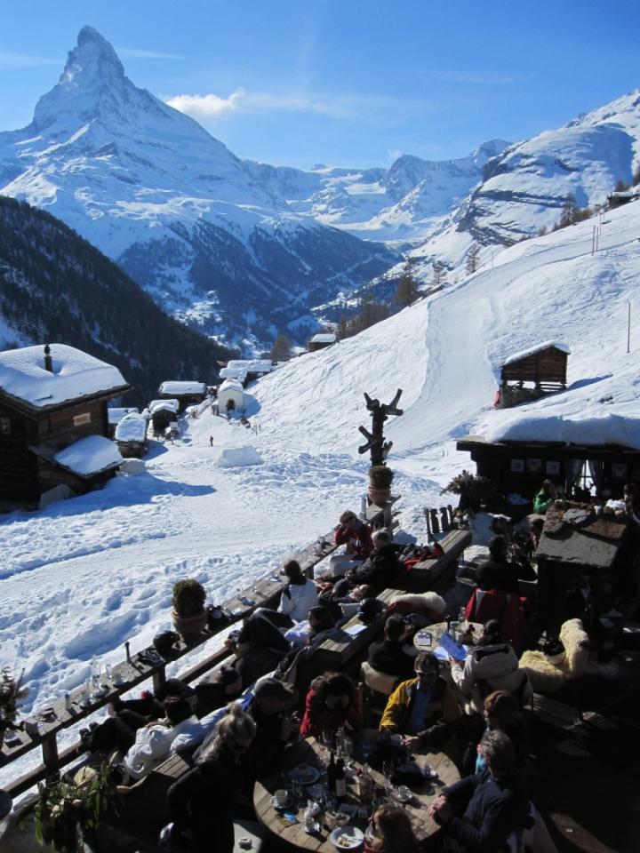 Svájc - Luxus a sízésben
