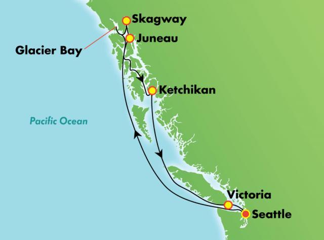 NCL - Alaszka - Glacier Bay