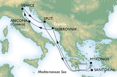 Last minute akció! - MSC Sinfonia - Görögország és Horvátország gyöngyszemei