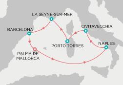 Pullmantur Sovereign - Mediterrán színkavalkád
