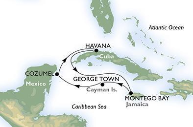 Repülj és hajózz - MSC Opera - Nyugat-karib szigetvilág