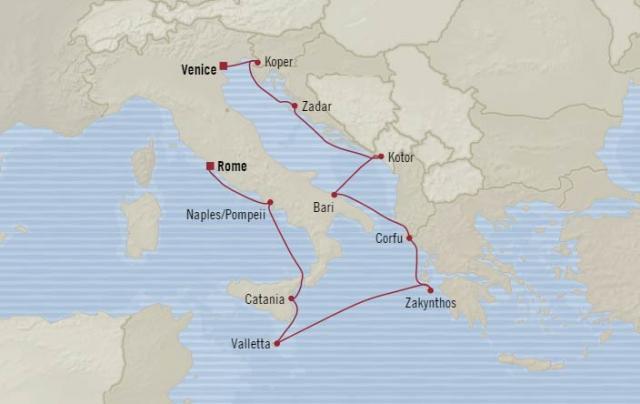 Oceania Marina - Középkori művészetek Velencétől Rómáig