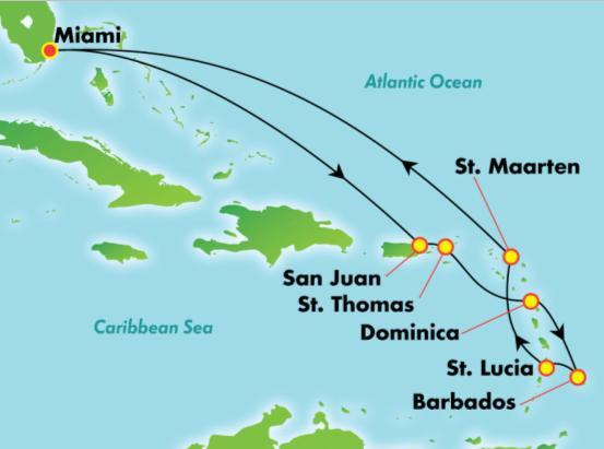 NCL Jade - Dél-karibi térség Miamiból