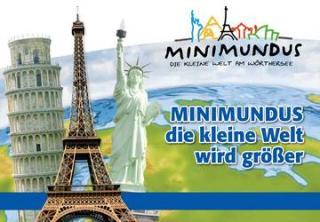 Egy nap alatt a világ körül (Klagenfurt - Minimundus - Wörthi - tó - Pyramidenkogel)