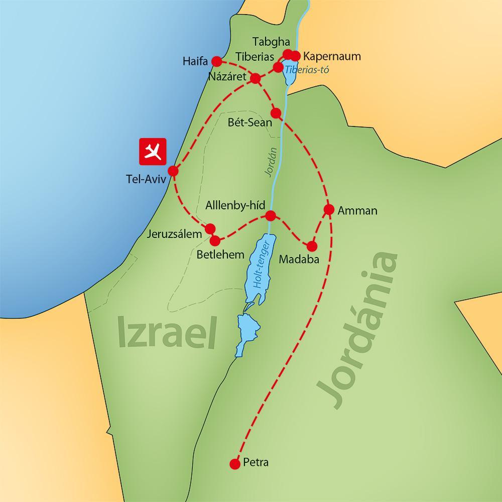 Varázslatos Izrael és Jordánia körutazás a896d54095